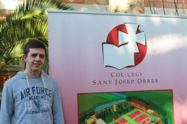 El mallorquín Andreu Vallcaneras, ganador de las Olimpiadas de Matemáticas 2017