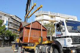 Último adiós a los míticos quioscos del Port de Pollença
