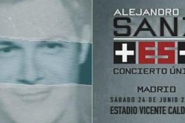 Agotado en media hora el aforo del concierto «Más es más» de Alejandro Sanz en Madrid