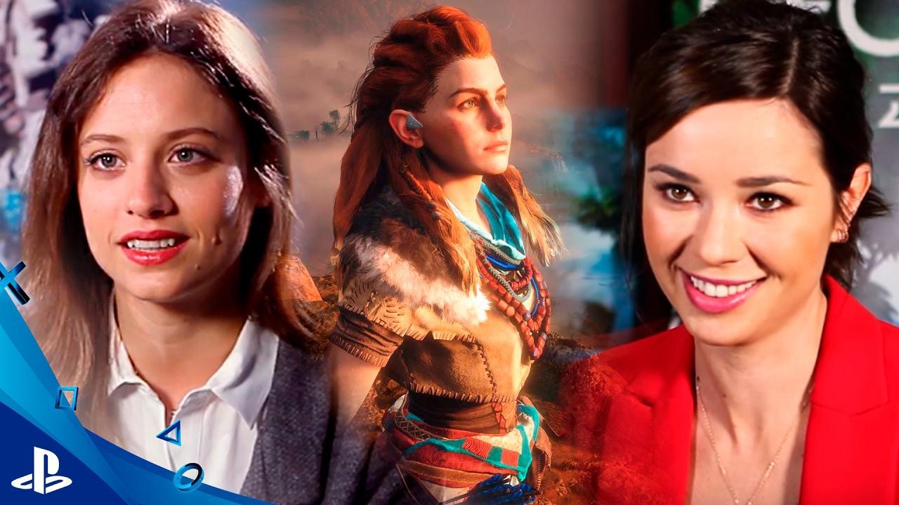 Michelle Jenner y Dafne Fernández prestan sus voces a las protagonistas de 'Horizon Zero Dawn'