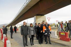 Consell y Govern inauguran el viaducto de Son Espases como obra emblemática en Balears