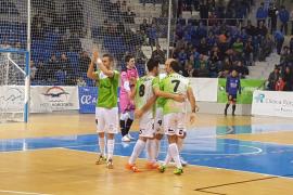 Nueva lección de entrega del Palma Futsal para superar al Ríos Renovables
