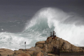 Alerta naranja por fuertes vientos en Mallorca