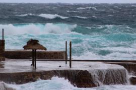 Fuertes rachas de viento en toda el área mediterránea