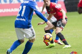 El Mallorca claudica en Oviedo y entra en puestos de descenso