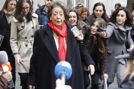 Rita Barberá murió a causa de una cirrosis, según la autopsia
