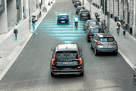 Los Volvo S90 y V90 obtienen la calificación máxima de Euro NCAP