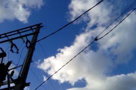 Vecinos de es Cos, en Binissalem, sin luz desde las seis de la mañana de este lunes