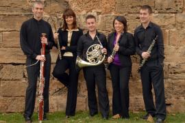 El Quintet Lluís Vives, junto a Bernaldo de Quirós, en el III Festival Beethoven de Palma