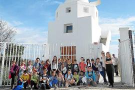 El Observatorio de Puig des Molins recibió 1.228 visitantes en 2016