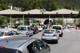 El Consell informará en la entrada del túnel de cuánto aparcamiento queda en Sóller