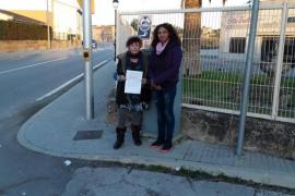 Círculo Podemos Llubí pide la mejora de la seguridad vial en la zona del polideportivo