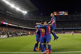 El Barça sufre ante el Atlético, pero estará en su cuarta final consecutiva de la Copa del Rey