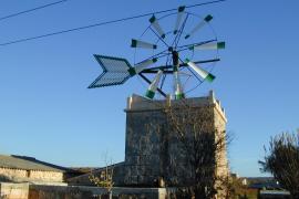 Un taller del Consell rehabilita molinos de la Isla