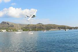 Defensa se desentiende de los amerizajes civiles en la bahía de Pollença