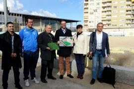 La reforma del campo de La Antoniana estará terminada en primavera