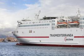 Trasmediterránea incorpora un nuevo ferry a la ruta Alcúdia - Ciutadella