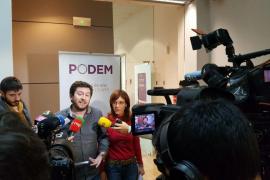 Podemos, PSIB y MÉS cierran el pacto para que Picornell presida el Parlament