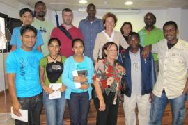 El Ajuntament de Palma imparte clases de castellano en Son Gotleu