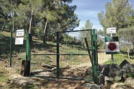 La barrera del camino viejo de Puigpunyent se abrirá este viernes