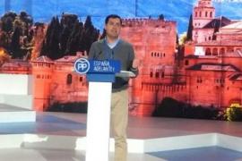 Juanma Moreno reconoce «división» en el PP sobre la acumulación de cargos