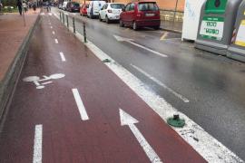 Biciutat reclama al Ajuntament que mejore 22 tramos de carriles bici