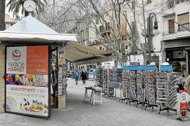 La Federació de Veïns pide que no se den más licencias a quioscos comerciales