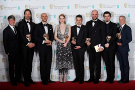 'La La Land', Bafta a la mejor película y triunfadora de la 70 edición de los premios
