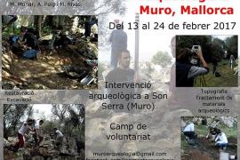 Muro empieza la tercera intervención arqueológica en el yacimiento de Son Serra