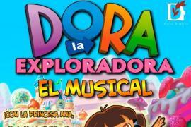 La Sala Dante acoge el musical de Dora la Exploradora