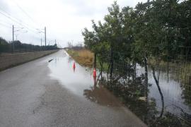 Binisalem pide soluciones al Consell y al Govern ante las continuas inundaciones de determinadas zonas del municipio