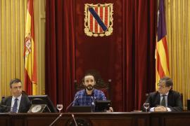Baltasar Picornell, nuevo presidente del Parlament balear