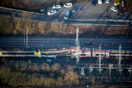 Accidente de trenes