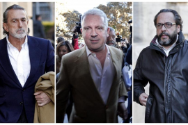 Correa, Crespo y 'El Bigotes', a prisión por riesgo de fuga