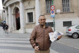 Detenido 'El Ico' por amenazar con una pistola a un conductor en Son Banya