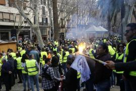 Protesta de los taxistas