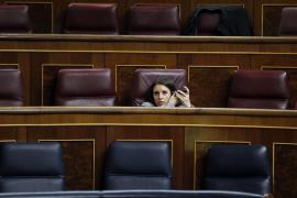 Irene Montero (Podemos) llama «machirulo» a un diputado del PP que se encaró con Iglesias