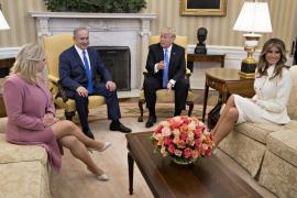 Trump abre la puerta a una solución «de un Estado» entre Israel y Palestina