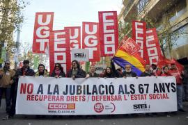 Manifestación de los sindicatos