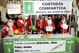 Protesta por la custodia compartida