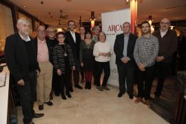 El Grup d'Estudis de les Fortificacions, premiado por los socios de Arca