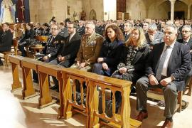 Último adiós al policía nacional fallecido en Palma