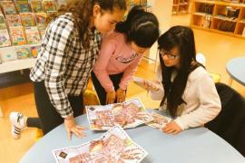 300 alumnos desentrañan 'El misterio de la Biblioteca' en Can Sales