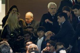 La novia de Maradona declara ante la Policía después de la discusión en el hotel