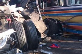 16 muertos y 50 heridos tras un accidente de autobús en Venezuela