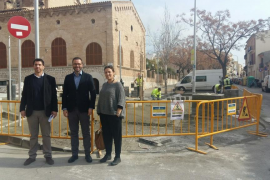 Cort invierte casi 700.000 euros en el barrio de Santa Catalina
