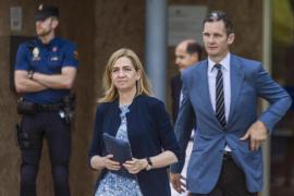 La Infanta, Urdangarin y Matas recibirán por correo electrónico la resolución del tribunal