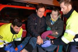 Rescatado un joven alemán que se marchó de excursión de madrugada a La Trapa