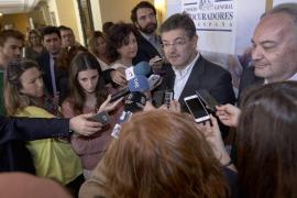 El ministro de Justicia defiende la independencia y el criterio de las juezas del caso Nóos