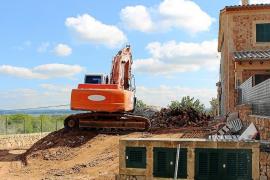 El Ajuntament de Santa Eugènia retrasó seis años la demolición del adosado de ses Olleries